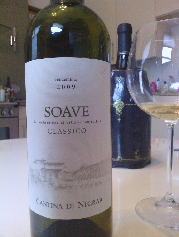A disappointing Soave from Majestic #wine