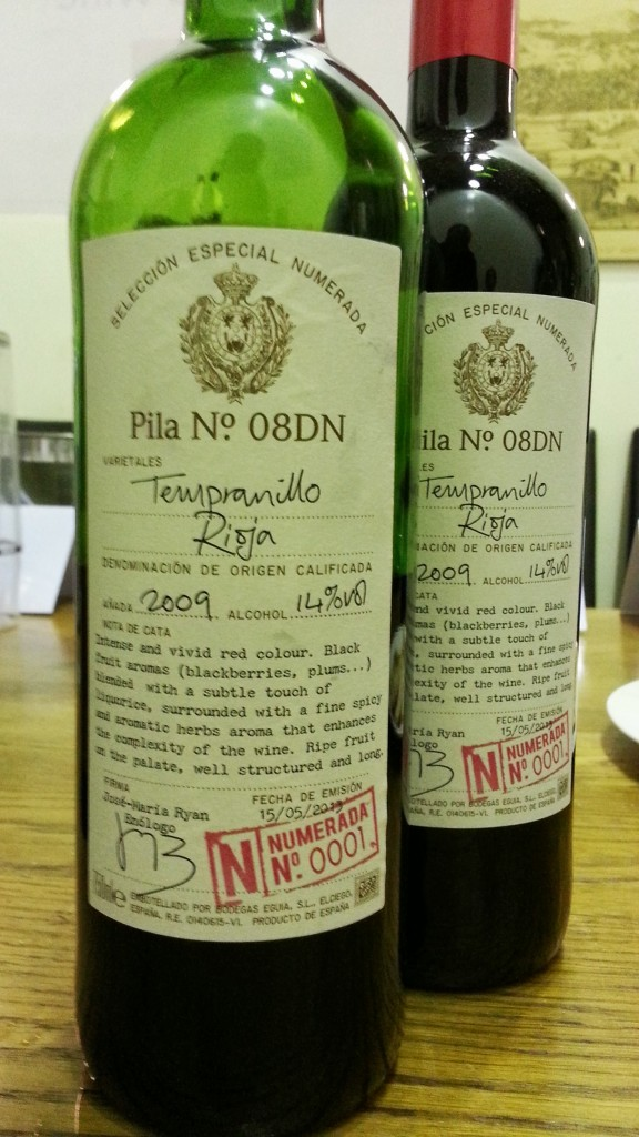 A tasty Rioja with a hidden past