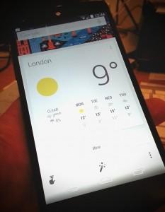 Nexus 5 screen