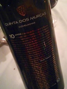 Quinta dos Murcas 10 year old tawny