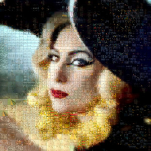 Lady Gaga - Photo Mosaic