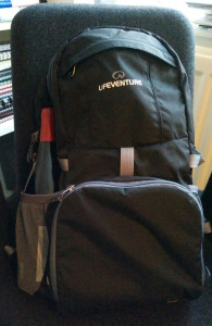 LifeVenture Daypack in Action