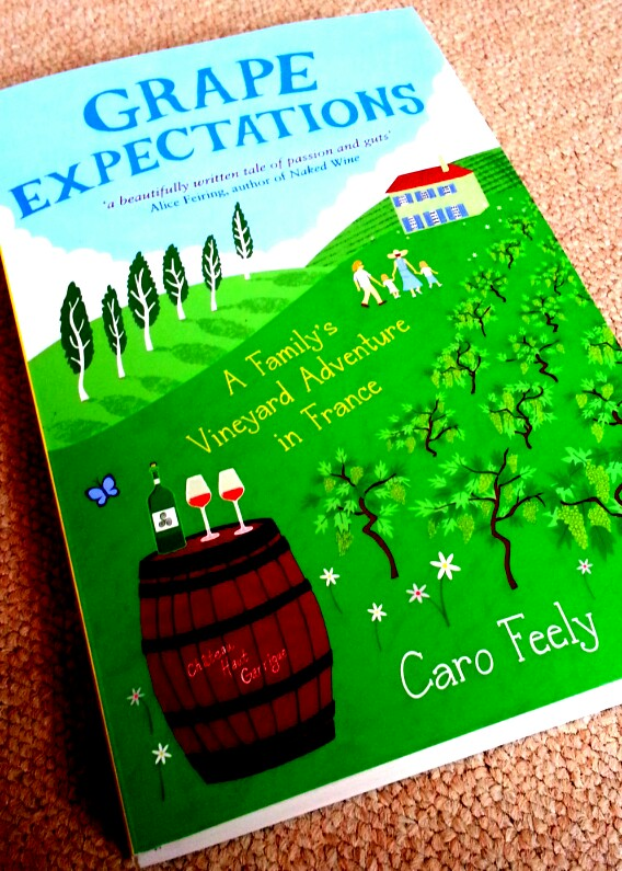 Grape Expectations Book Caro Feely