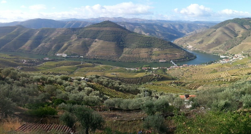 Catching my breath in the Douro