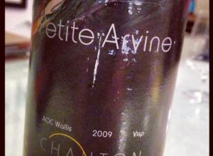 An interesting Petite Arvine