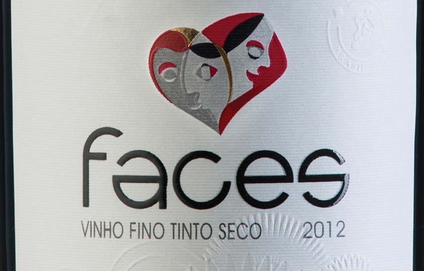 What illiterate designer created this World Cup Wine design?