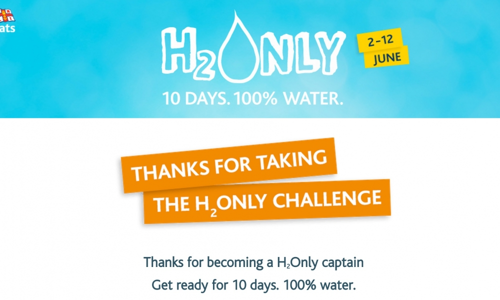 Going Dry, With Water #H2Only