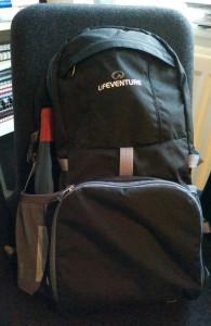 LifeVenture Daypack in Action