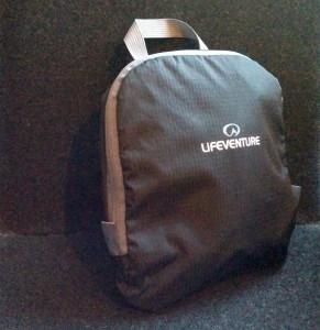 Folded LifeVenture Daypack